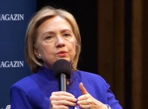 News video: Hillary Clinton Promotes New Book in Germany